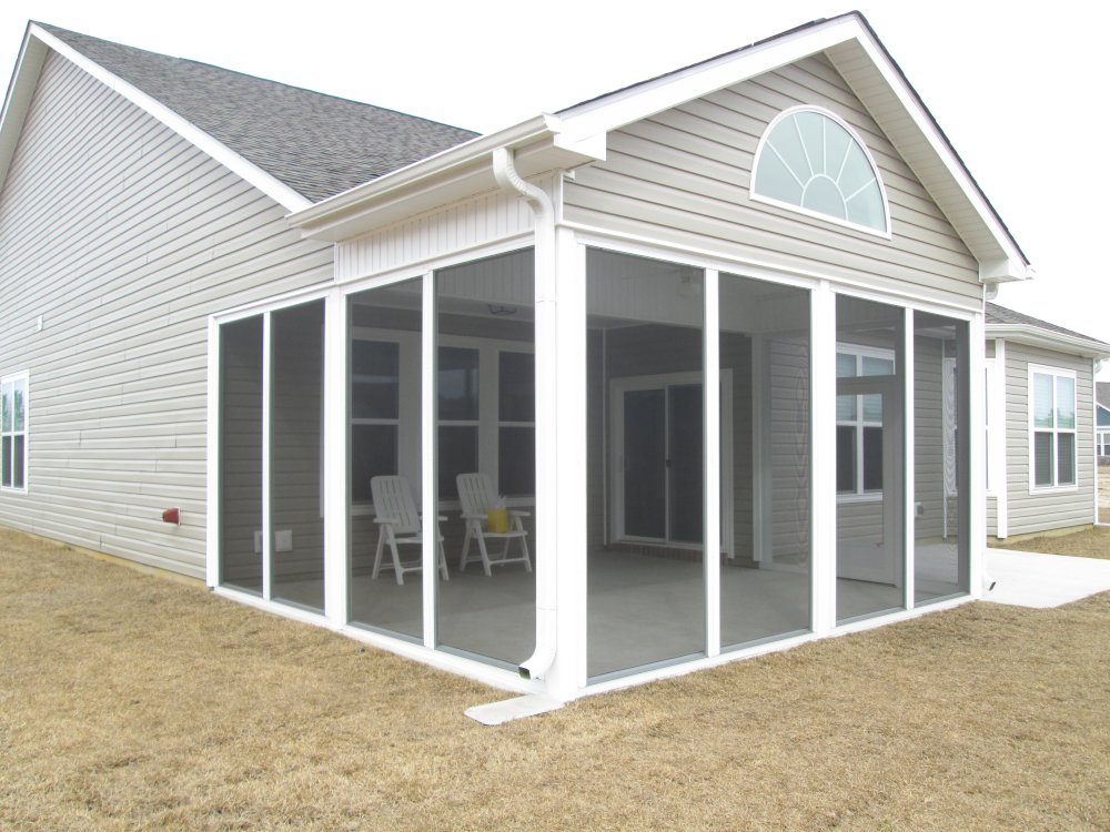 Sunrooms porch enclosures windowz inc for Porch sunroom